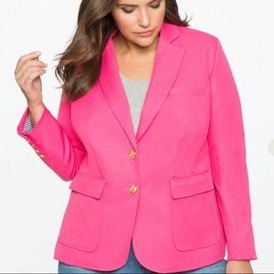 Eloquii Quinn Pink Blazer
